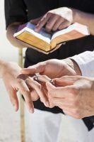 Temas de la boda bíblica
