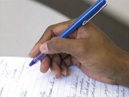 Cómo escribir un informe Formal corto