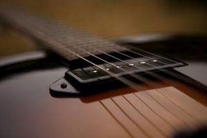 Las especificaciones de cableado para una guitarra eléctrica