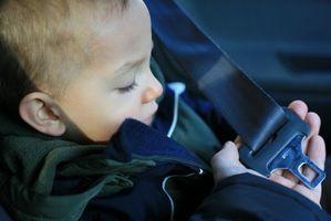 Regulaciones de asiento de coche de bebé