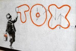 Cómo hacer una plantilla plástica para Graffiti