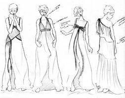 Cómo Dibujar Un Vestido De Alta Costura Usroasteriecom