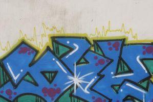 Cómo crear efectos de Graffiti en papel