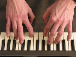 Cómo programar efectos para un teclado Musical