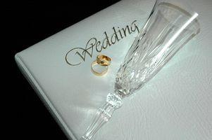 Lista de regalos de boda tradicional
