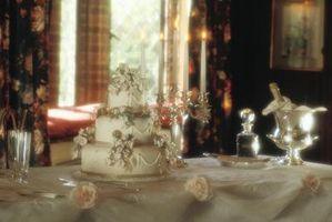 Cubiertas de mesa de boda