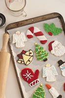 Cómo hacer galletas de Navidad con su niño