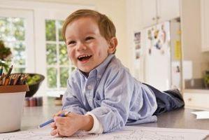 Cómo llegar a los niños para la práctica de escritura a mano