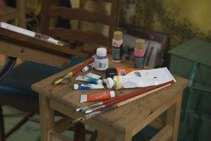 How to Paint tips: los colores complementarios correcto uso