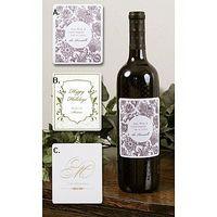Cómo hacer etiquetas de botellas de vino personalizadas para tu boda