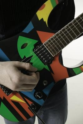 Fresco sonido técnicas de guitarra