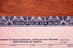 Cómo obtener un certificado de defunción en Missouri