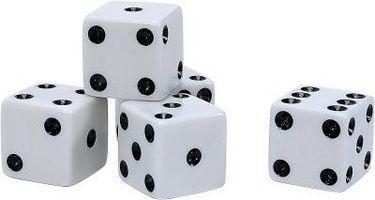 Fácil-a-juego dados las reglas del juego puntuación e información