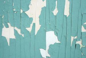 Pintura a base de pintar paneles de madera con aceite