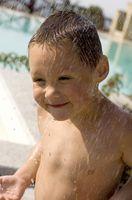 Traje de baño de flotación para niños