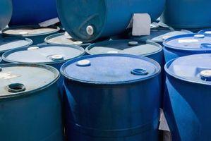 Cómo deshacerse de residuos químicos