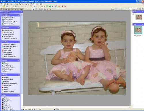 Cómo cambiar una foto de Color en una foto Sepia utilizando el Software de imagen Digital de Microsoft