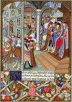 Ropa de boda medieval para hombre
