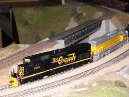 Cómo cablear un sistema de tren Lionel antiguo