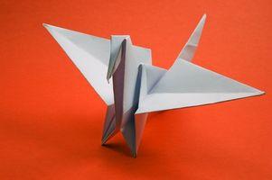 Cómo hacer una figura tridimensional de papel