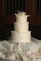 Sabores de pastel de boda de otoño