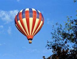 Cómo determinar la flotabilidad de la elevación de aire caliente
