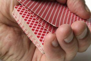 Instrucciones para el juego de cartas Flinch
