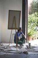 Cómo utilizar el estuco en el arte