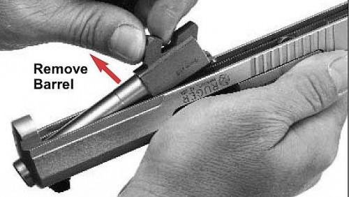 Cómo desmontar en el campo y desmontar una Ruger SR9