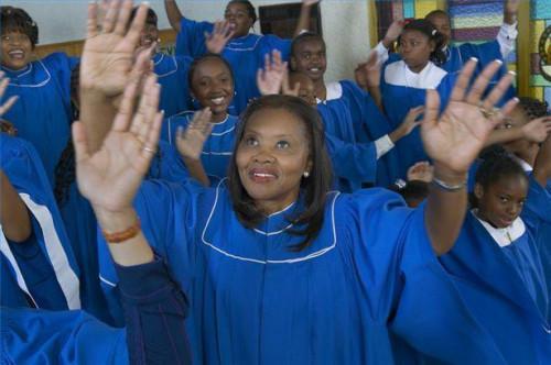 Cómo a una audición de una persona por el coro de la iglesia