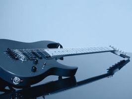 Trucos para hacer en una guitarra de Floyd Rose