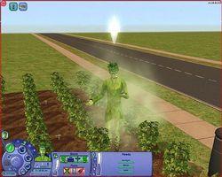 Cómo convertir tu Sim en una persona de planta en los Sims 2