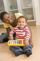 Enseñanza del ritmo y música a niños pequeños