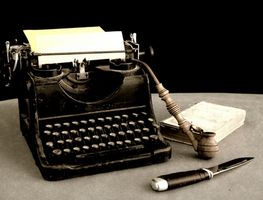 Cómo cambiar una cinta de máquina de escribir