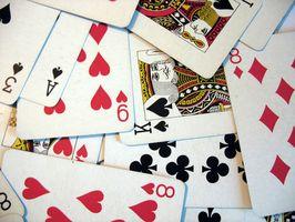 Las reglas a las espadas para un juego de cartas Hoyle