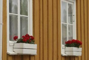 ¿Qué tipo de pintura debería utilizar para cajas de madera de la flor?