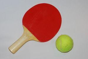 Instrucciones de tenis de mesa de Wii