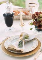Cómo seleccionar alimentos para una recepción de boda