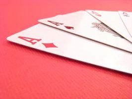 Instrucciones del juego de Skat tarjeta