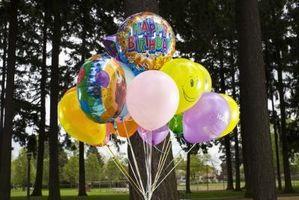 Cómo aspirar el helio de un globo de tienda