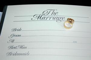 Cómo obtener una licencia de matrimonio en Louisiana