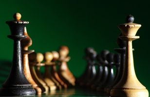 Cómo hacer un tablero de ajedrez laminado