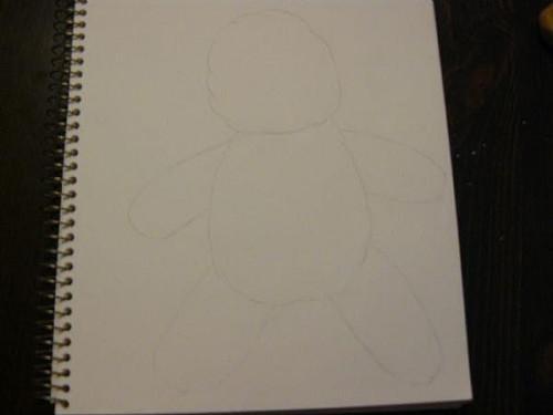 Cómo dibujar un oso de peluche de fácil