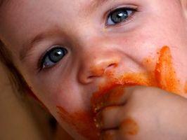 Alimentos comunes de Gerber que provocar erupciones en bebés