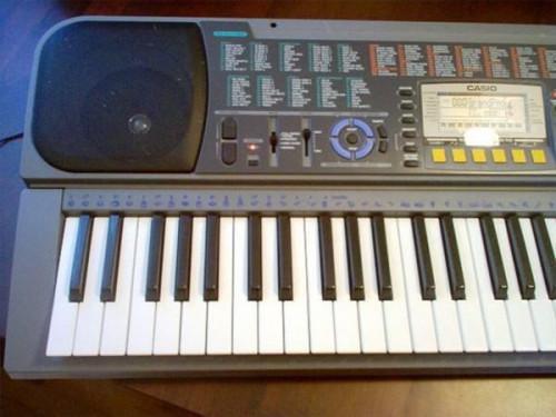 Acerca de teclados electrónicos Casio