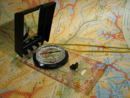 ¿Cómo calcular la distancia en un mapa topográfico?