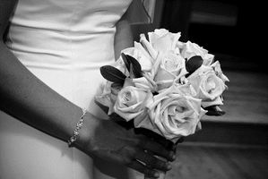 Blanco y negro boda Ideas
