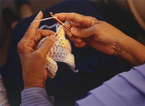 Cómo Crochet una forma básica ovalada