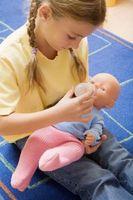 Cómo obtener las manchas de caras de muñecas