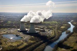 Plantas de energía nuclear en el medio ambiente